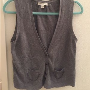 Banana republic Gray sweater vest